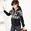 Womens Fashion Casual Long Sleeve Thicken Hoodie Sweatshirt (More Colors)