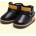 Girls Shoes Comfort Flat Heel Ankle Boots with Buckle More Colors available