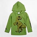 Boys Hoodies with Hooded Winter Sweatshirts Long Sleeve Cartoon Dinosaur Printed Fashion Children Hoodies