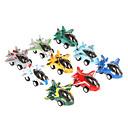 9pcs diversión niños mini avión velocidad x la calle tire hacia atrás del coche de juguete