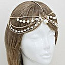 Womens Multilayer Pearl Hair Band