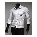 City Men's Casual Basic Fashion Soft Shirt