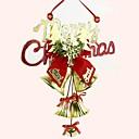 20cm de campana a cuadros Inglés ornamentos de navidad (color al azar)
