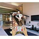2.4ghz 4 canales de juguetes de control remoto de 4 ejes mini helicóptero del rc quadcopter rc con la luz llevada