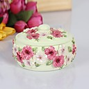 HAOXINYI Novelty Modern Pansy Flower Jewelry Box