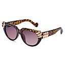 100% de ojo de gato pc aleación friki UV400 de las mujeresamp;gafas de sol elegantes