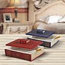 haoxinyi novedad estilo antiguo libro rojo cenicero polyresin q11042