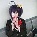 amor, chunibyoamp;otros delirios rikka Takanashi peluca púrpura oscuro cosplay
