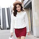 Zian Womens Pullover Faux  Rabbit Fur Outerwear