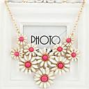 faltar collar coreano flor de la moda (collar: 40cm, gota: 12cm)