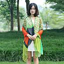 moda temperamento chal color de impresión contraste elegancia de la mujer beileier
