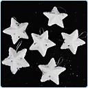Christmas Tree Ornaments Pentagram (Set of  6)