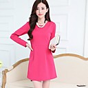 ICED™ Womens Fashion Long Sleeve Dress with Necklace(More Colors)