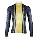 PaladinSport Women's Female Classic Spring and Summer Style 100% Polyester  Long Sleeved Cycling Jersey