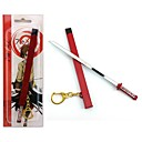 Akame ga kill! patrón espada roja llavero cosplay
