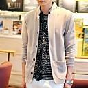 Men Knit Collar Slim Small Suit
