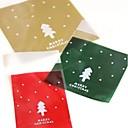 10 piezas bolsa verde lindo regalo de navidad estilo