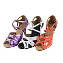 Latin Customizable Women's Sandals Customizable Heel Buckie Dance Shoes(More Colors)