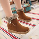 Womens Shoes Round Toe Low Heel Ankle Boots with Zipper More Colors available