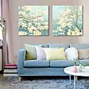 Reproducción en lienzo de Arte Floral Set próspera de 2