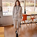 Womens Hoodie Fashion Lace Stitching Loose Sport Suits(HoodiesPants)