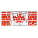 angibabe cubierta del teclado 0.1mm ultra-delgada tpu modelo de la bandera de canadá transparente para el MacBook Air / pro / retina
