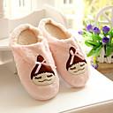 Womens Shoes Round Toe Flat Heel Velvet Slippers Shoes