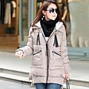 WeiMeiJia Womens Winter XXXL Plus Size Medium Long Down Jacket