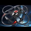 2.4G 4 canales rc luz wtih Quadcopter en rojo y púrpura