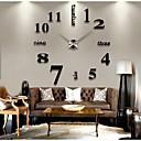 Image of creativo moderno stile fai da te 3d adesivo orologio da parete decorazione della casa