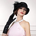 Gorgeous Wool Ladies Wedding /Party/Outdoor Hat With Feather And Crystal
