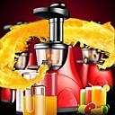 de frutas y verduras de baja velocidad silenciado extractor de jugo crudo