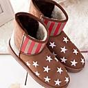 botas de piel de 2.014 botas de comercio exterior de la piel del zorro de las mujeres Enthone am075 amarilla