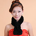 accesorios bufanda de piel de conejo de piel especial ocasión / bufanda informal (más colores)