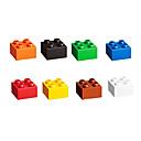100 piezas de 2x2 ladrillos bloques de construcción Lego plástico bricolaje juguetes educativos