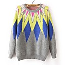 Womens New Geometric Sunflower  Sweater (More Colors)
