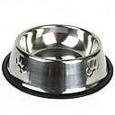Round Stainless Steel Bowl for Pets Dogs