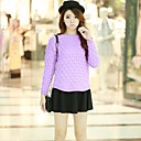 Womens Hedging Round Neck Short Paragraph Female Autumn Sweater (More Colors)
