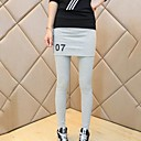 Womens Casual Fashion Slim False Two Pieces Culottes Leggings