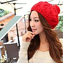 Womens Fashionable Contracted Knitting Warm Twist Beret Hat