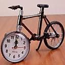 High Quality Plastic Antique Bicycle Alarm Clock (Color random)