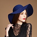 Fashionable Wool Ladies Wedding/ Party/ Casual Hat With Hollow and  Rivets  (More Colors)