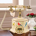 HAOXINYI Novelty Modern Garden Style Happy Birds Polyresin Home Telephone With ID Display
