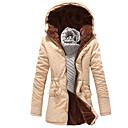 Jianda Mens Hoodie Custom Fit Thermal Coat
