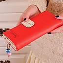 Womens Long Purse Clutch Wallet High Quality Zip Bag
