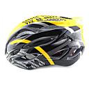 ungrol 23 respiraderos eps  pc amarillo  negro integralmente moldeado por el ciclismo casco (54-64cm)
