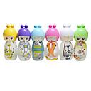 20ml diseño muñeca encantadora frascos de perfume herramienta de maquillaje pequeña