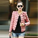 bodycon cuello redondo estilo coreano abrigo de coco zhang mujeres
