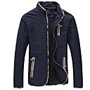 Skymoto Mens Stand Collar Jacket Coat (More Colors)