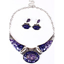 Womens Europe Vintage Alloy Jewelry Set(Including Necklaces Earrings)